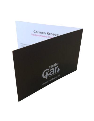 Tante Car zakenkaartje*