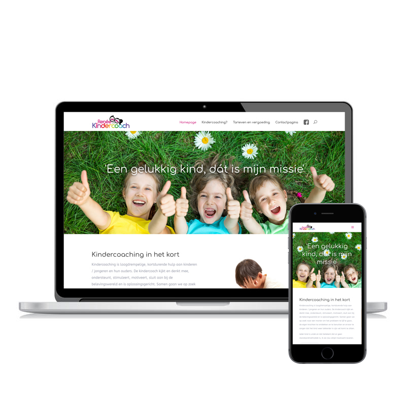 ReneedeKindercoach responsive website
