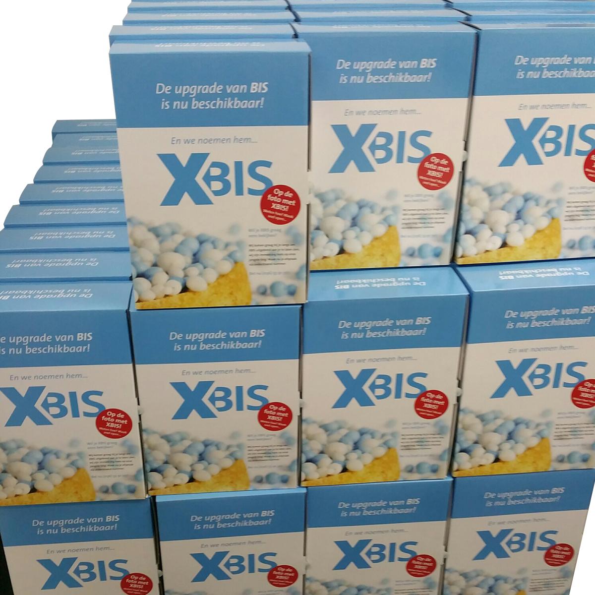 Mailing Xbis klaar voor verzenden