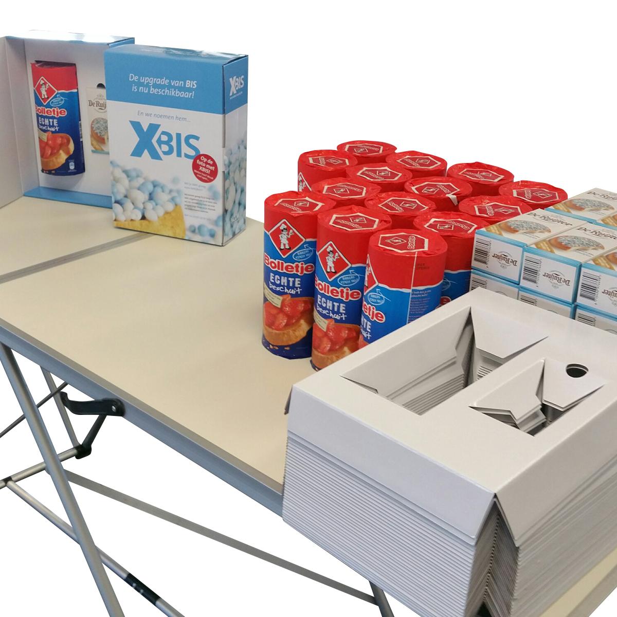Mailing Xbis handling tafel