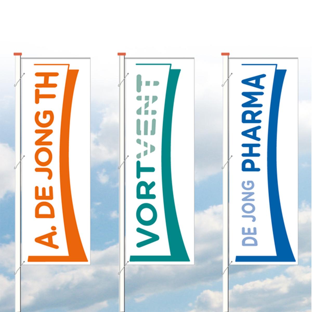 Vlaggen De Jong TH
