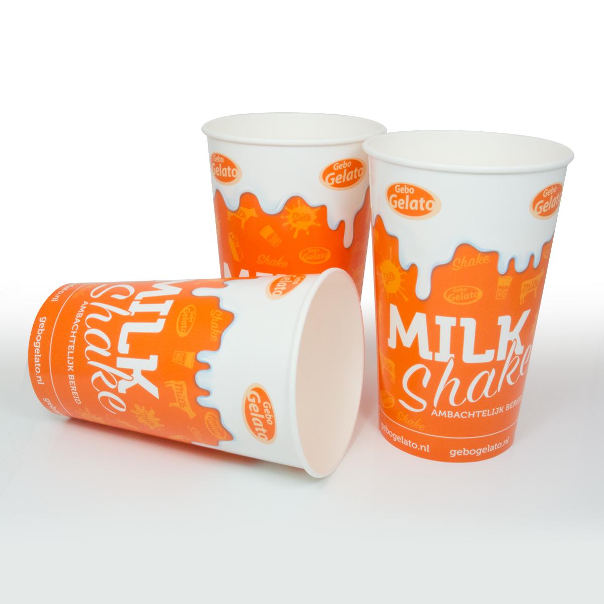 Milkshake bekers