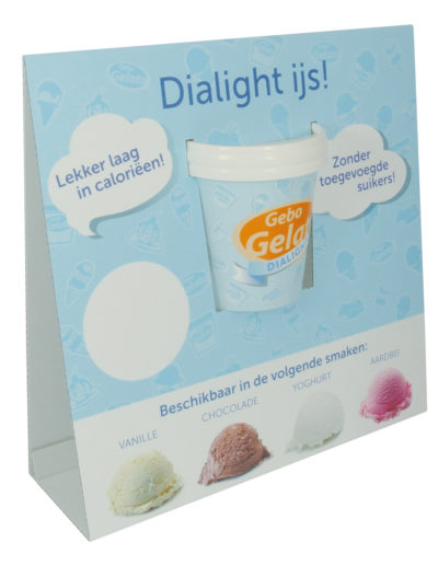 Gebo Gelato Dialight Display