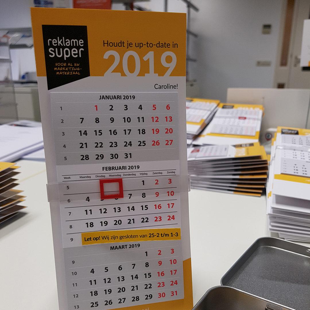 Kalenders op naam