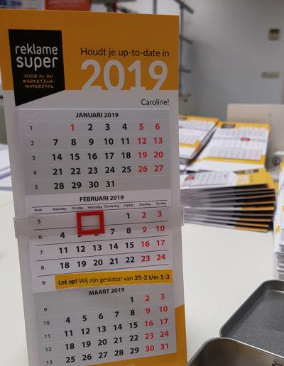 Reklamesuper kalender2019