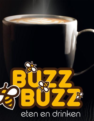 BUZZBUZZ logo + koffie