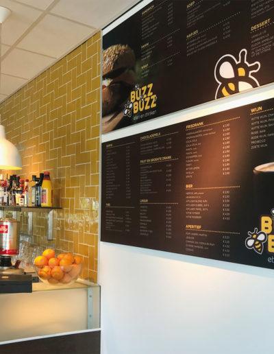 BUZZBUZZ menu + bar