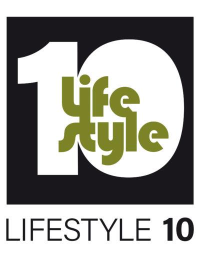 Lifestyle10 logo ontwerp