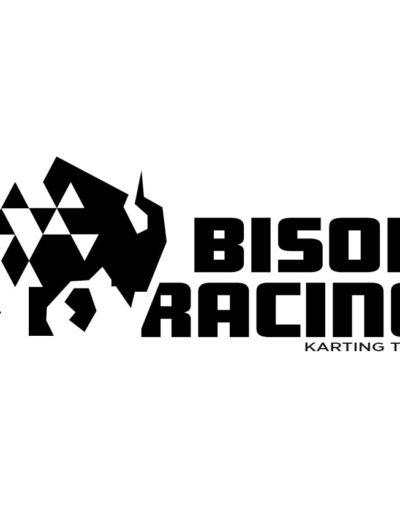 Bison Racing logo zw