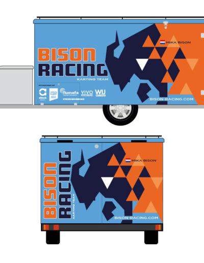 Bison Racing trailer