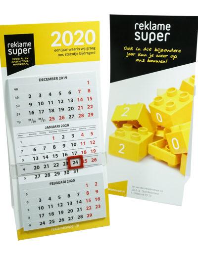Reklamesuper kalender 2020